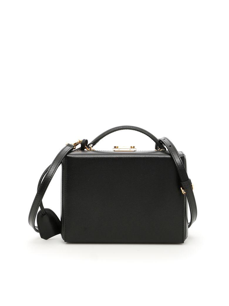 Mark Cross Small Grace Bag In Blacknero