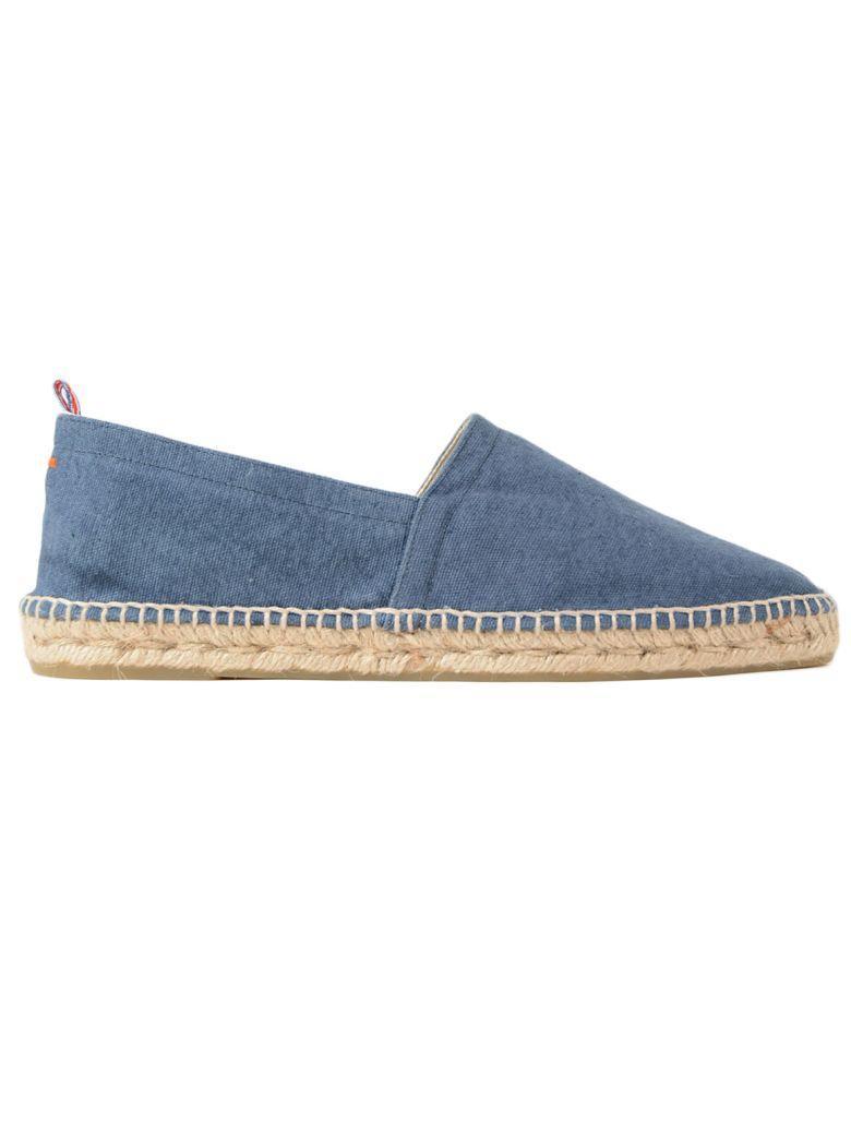 CastaÑer Almond Toe Espadrillas In Jeans