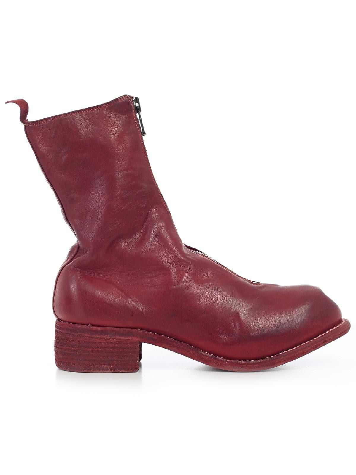 Guidi Boots In 1006t Red