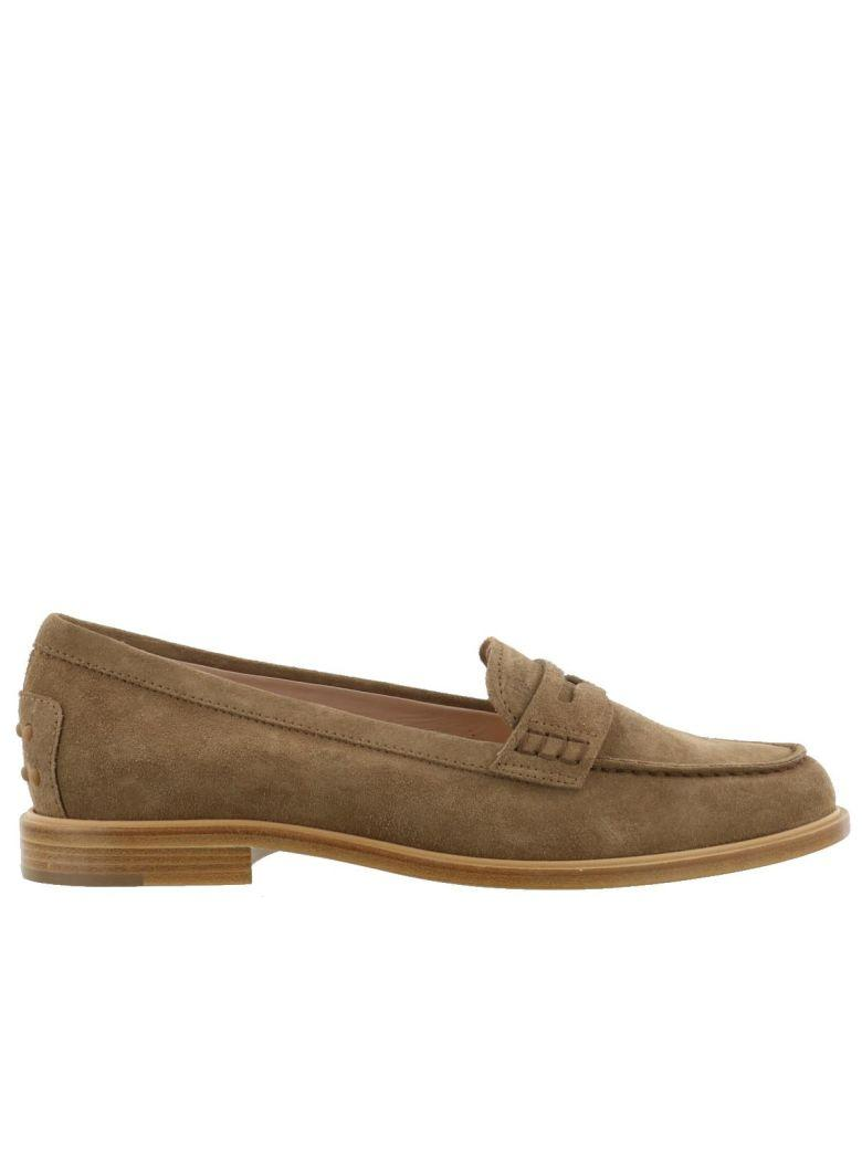 Tod's Loafer In Light Brown