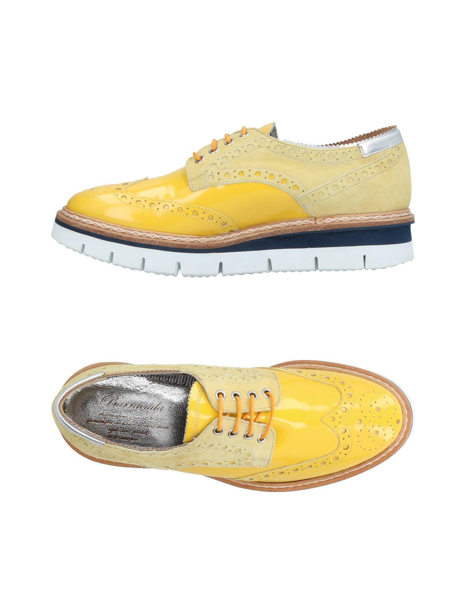 Barracuda Lace-up Shoes In Yellow