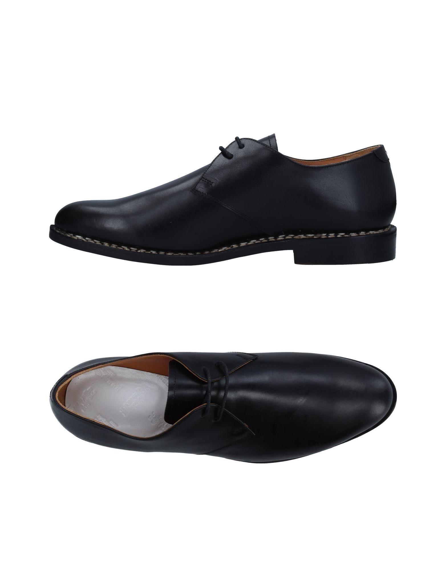 Maison Margiela Laced Shoes In Black
