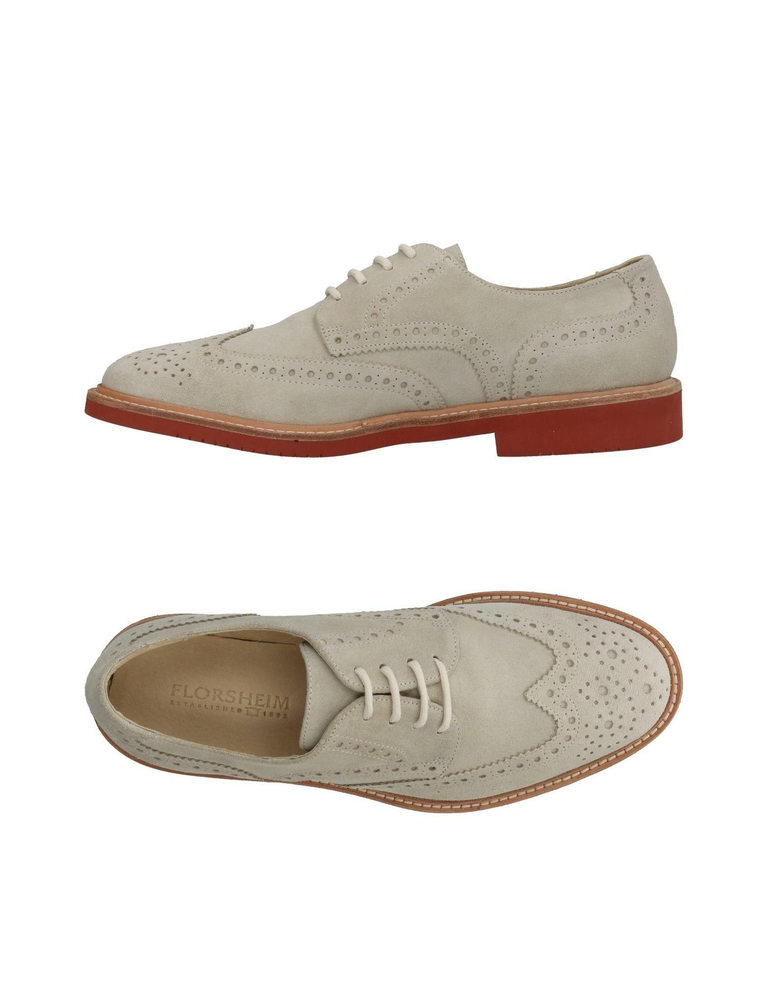 Florsheim Lace-up Shoes In Beige