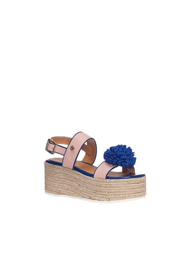 Moschino Ja16107i15id Sandals In Rosa/bluette