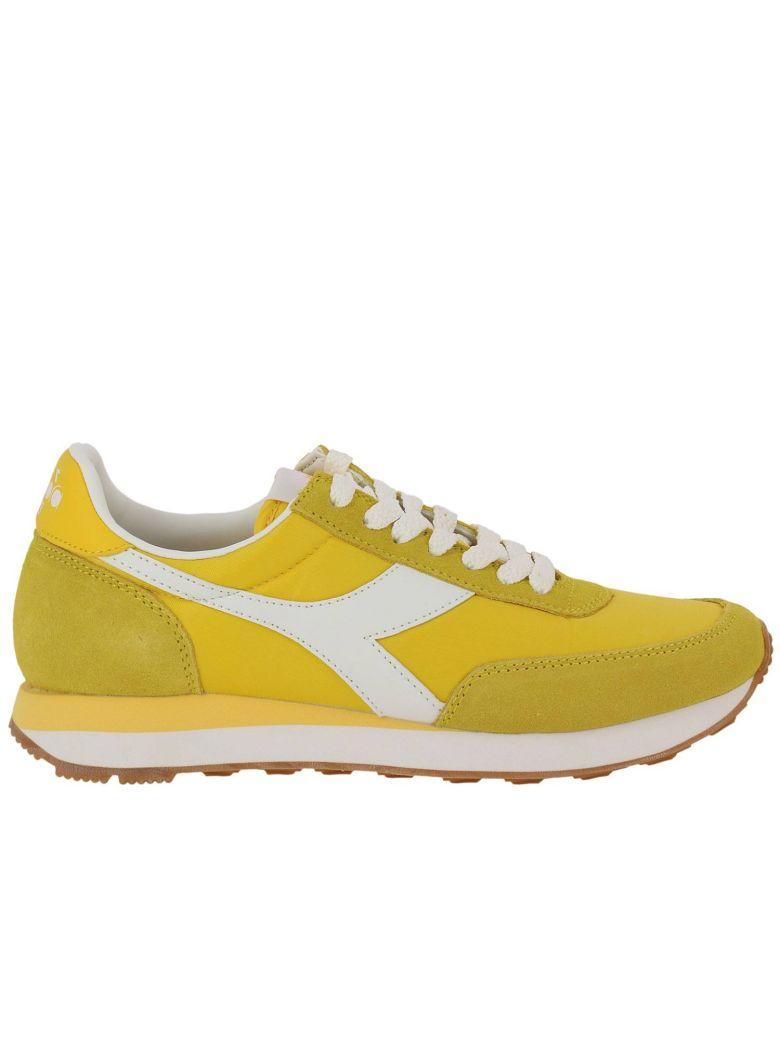 Diadora Sneakers Shoes Women  Heritage In Yellow