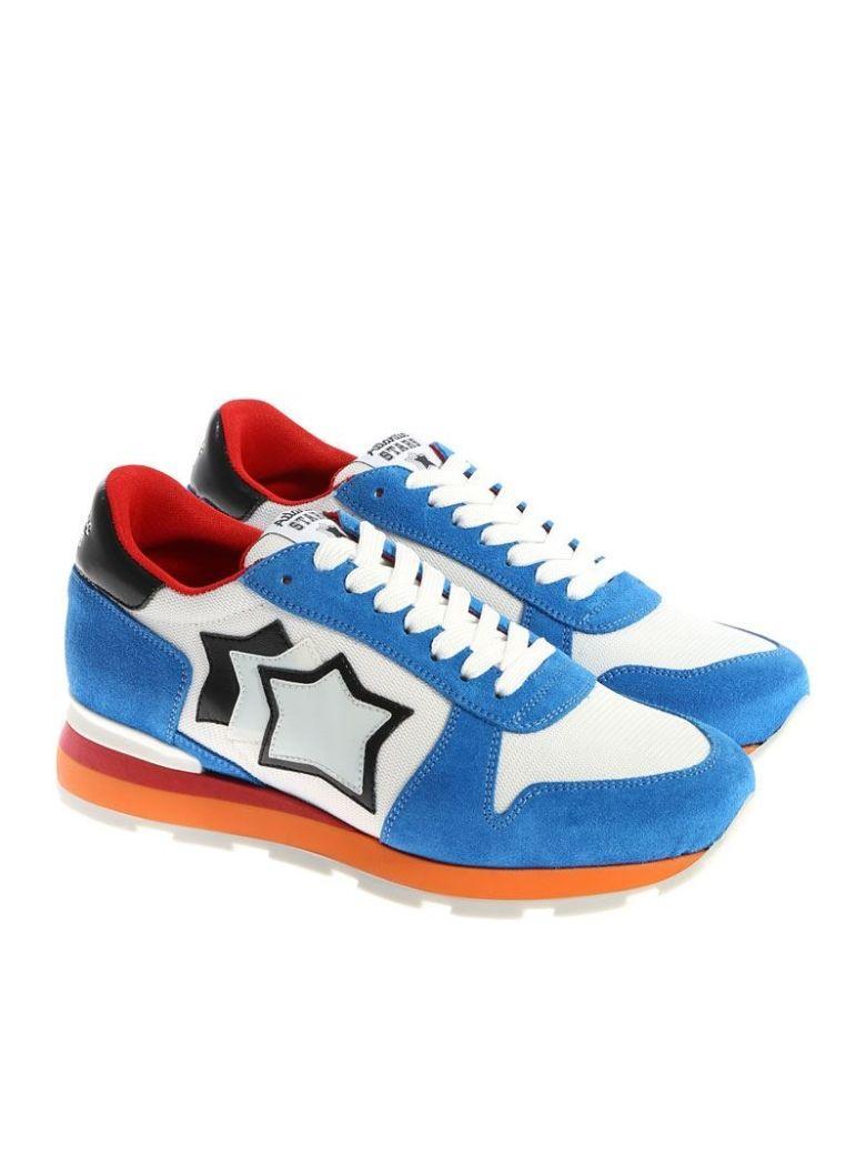 Atlantic Stars Sneaker In Light Blue