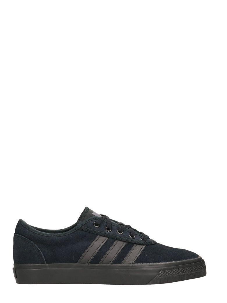 Adidas Originals Adi-ease Black Suede Sneakers