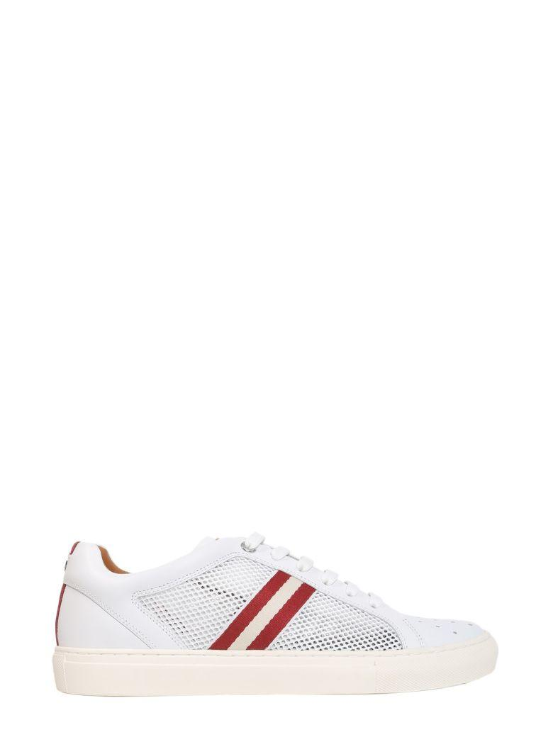 Bally Herk Sneakers In Bianco