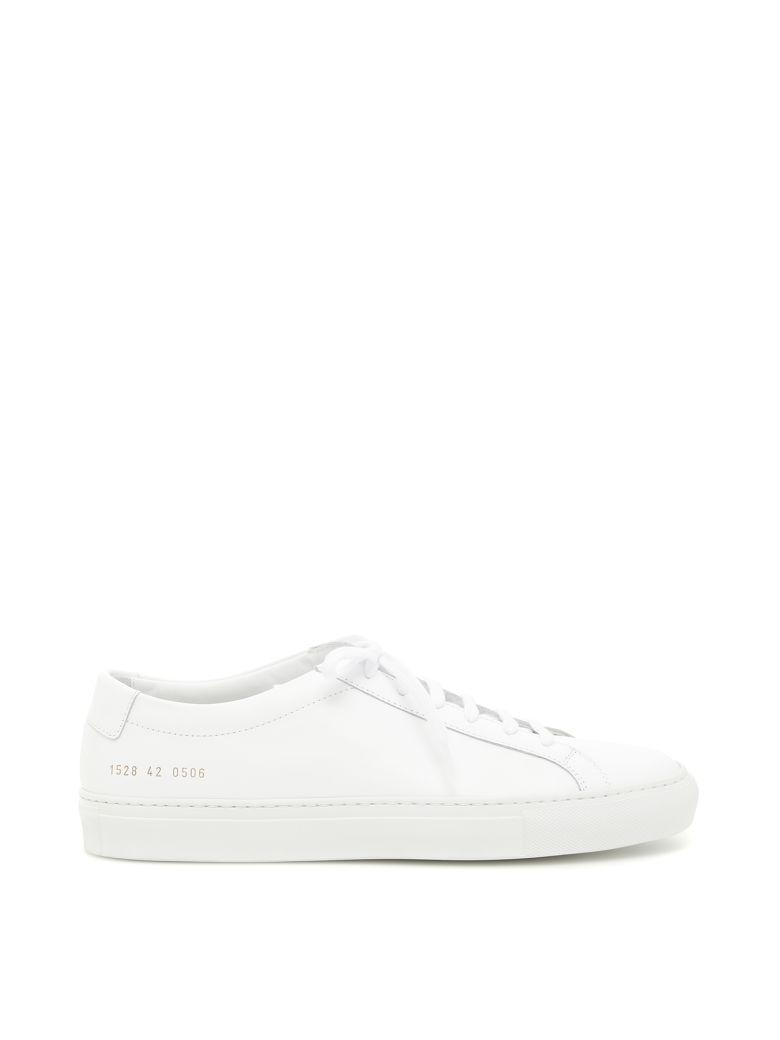 Common Projects Original Achilles Low Sneakers In Whitebianco