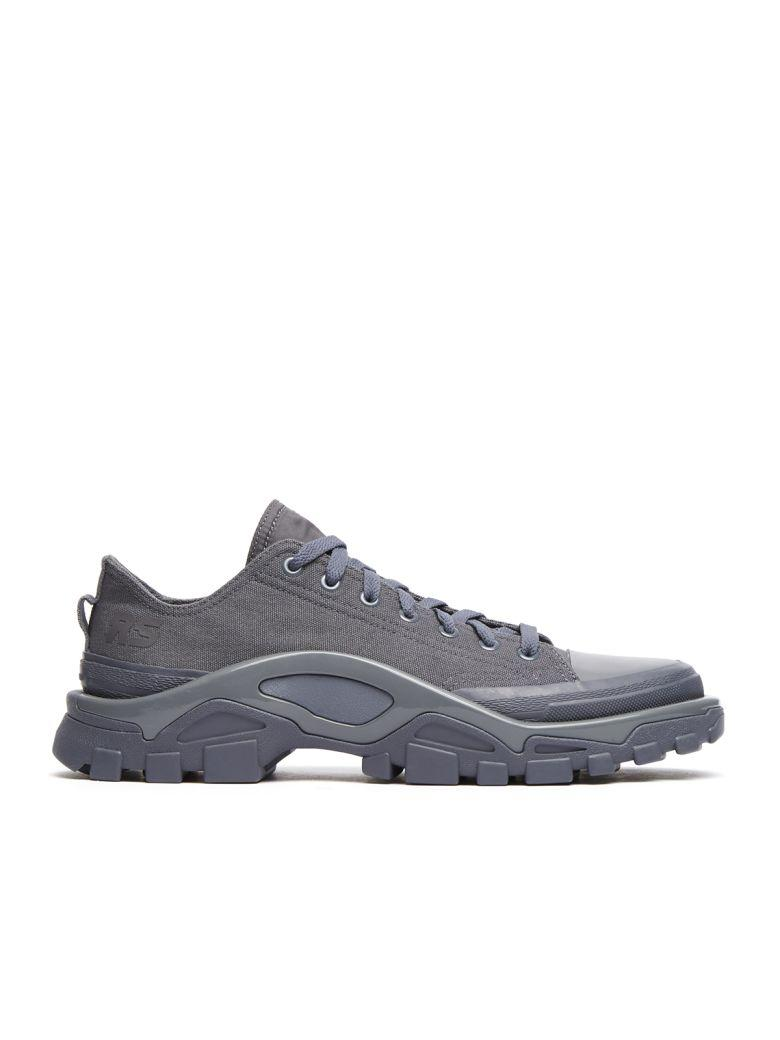 Adidas By Raf Simons X Adidas Detroit Runner Sneakers In Grey