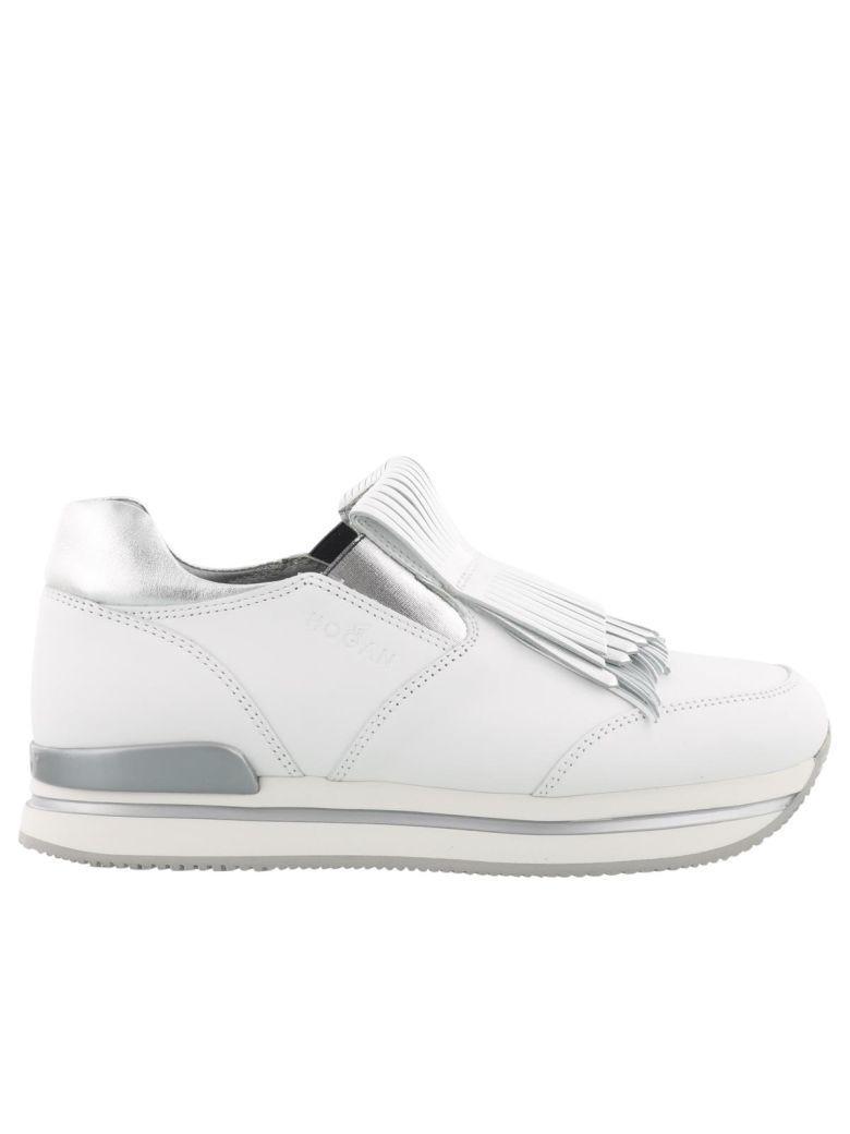 Hogan H222 Sneaker In Silver-white