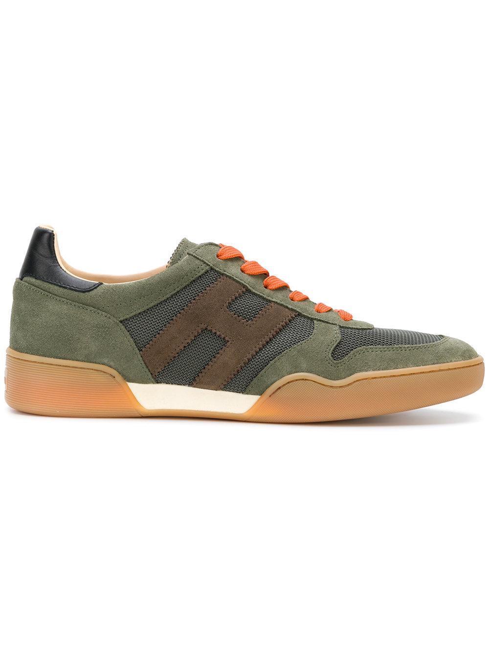 Hogan H357 Green Sneakers