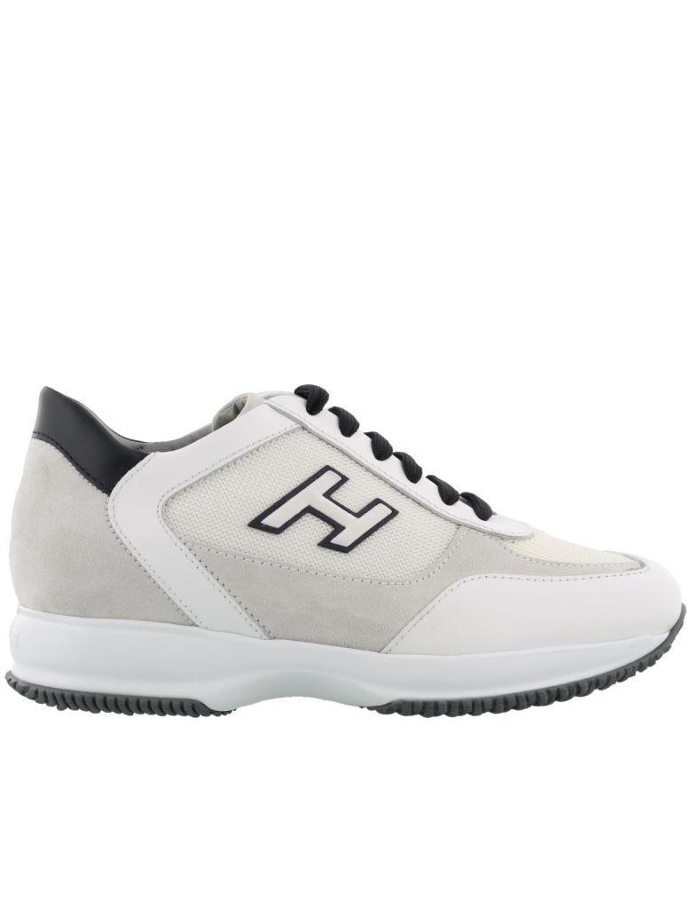 Hogan New Interactive Sneaker In White-night