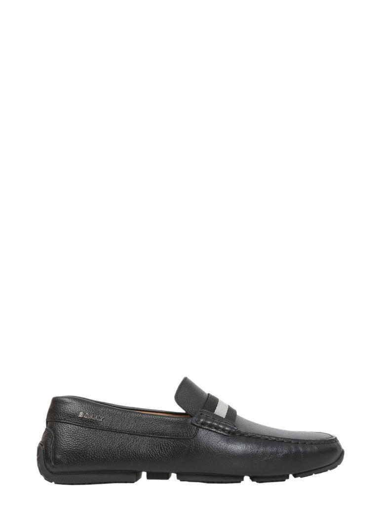 Bally Driver Pearce Loafers In Nero