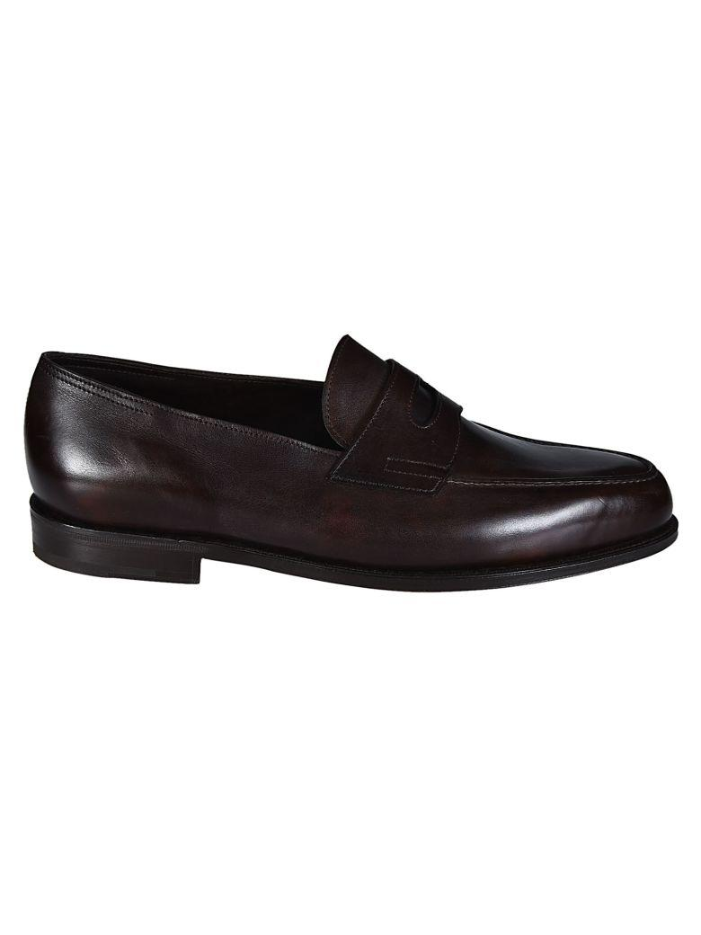 John Lobb Classic Loafers In Brown