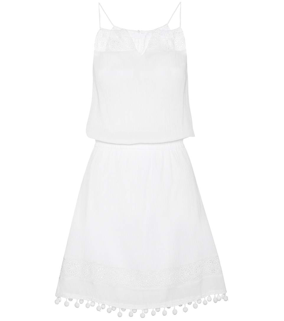 Heidi Klein Lace-trimmed Dress In White