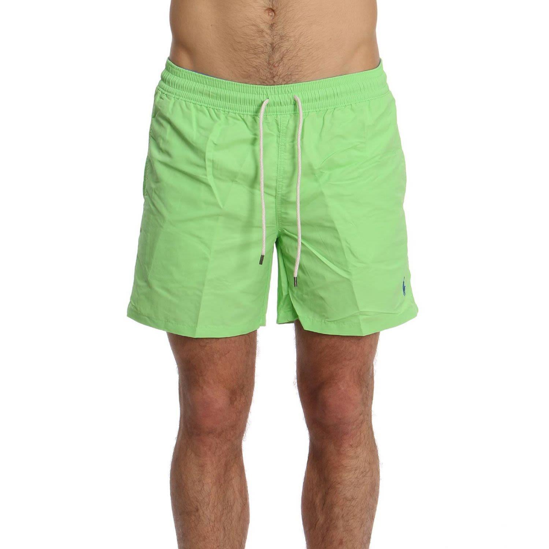 2308f625b1b9 Polo Ralph Lauren Embroidered Logo Swim Shorts In Green | ModeSens