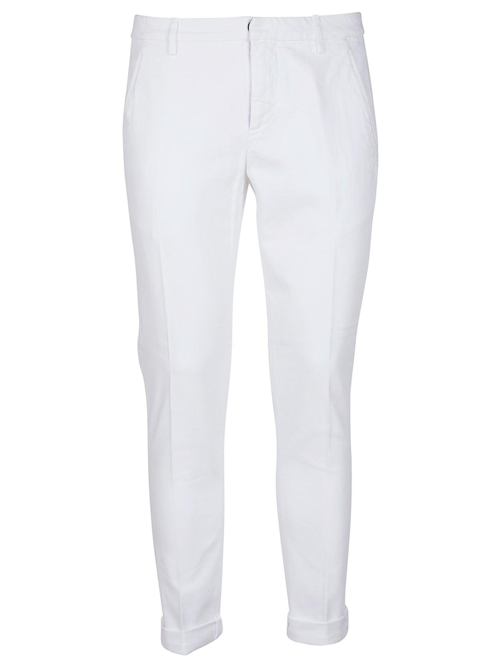 Dondup Gaubert Trousers In White