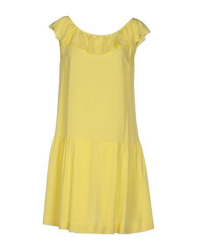 Red Valentino Short Dress In Yellow