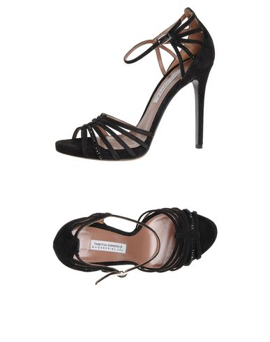 Tabitha Simmons Sandals In Black