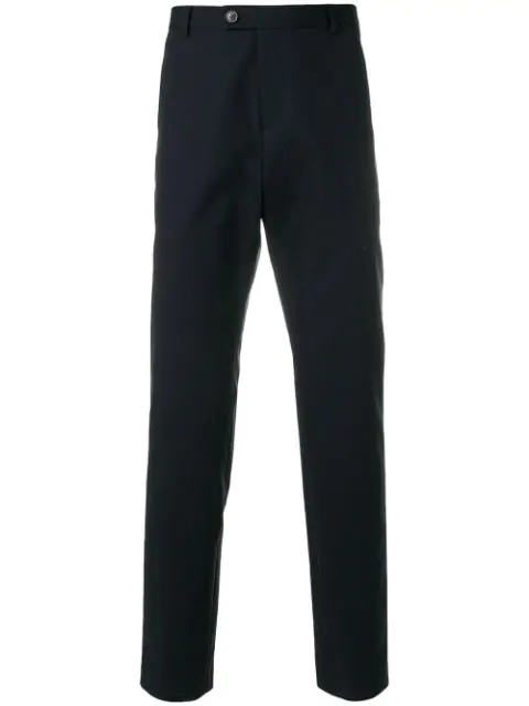 A.P.C. Donnie Straight-Leg Trousers In Blue