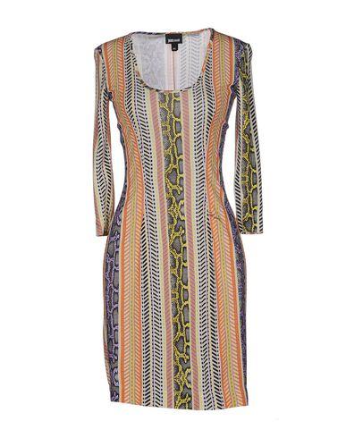 Just Cavalli Short Dress In Orange