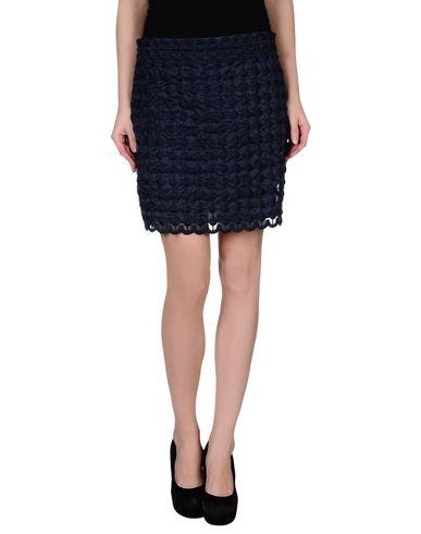 Red Valentino Knee Length Skirt In Dark Blue