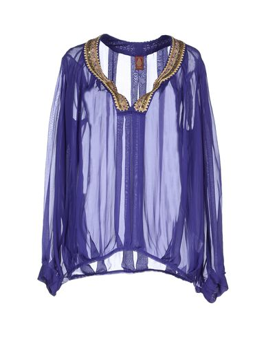 Dondup Blouse In Dark Purple