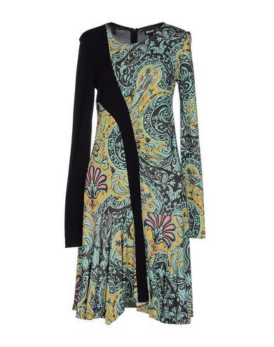 Just Cavalli Knee-length Dress In Light Green
