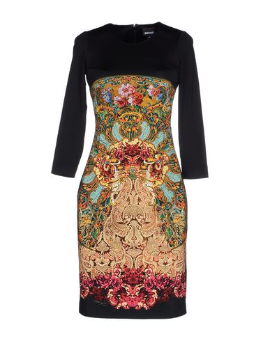 Just Cavalli Short Dress In Black