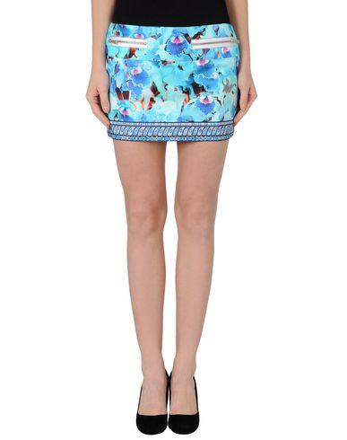 Just Cavalli Mini Skirt In Turquoise
