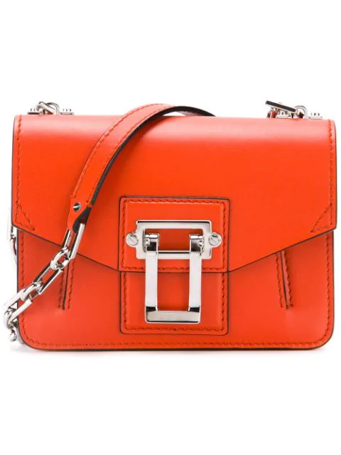 Proenza Schouler Hava Chain Crossbody Bag In Orange
