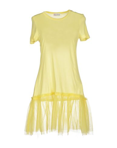 Red Valentino T-shirt In Yellow
