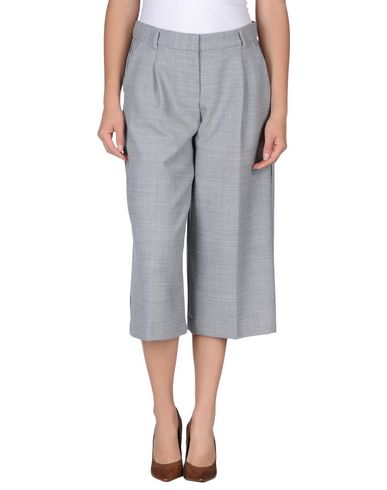 Just Cavalli Cropped Pants & Culottes In Grey