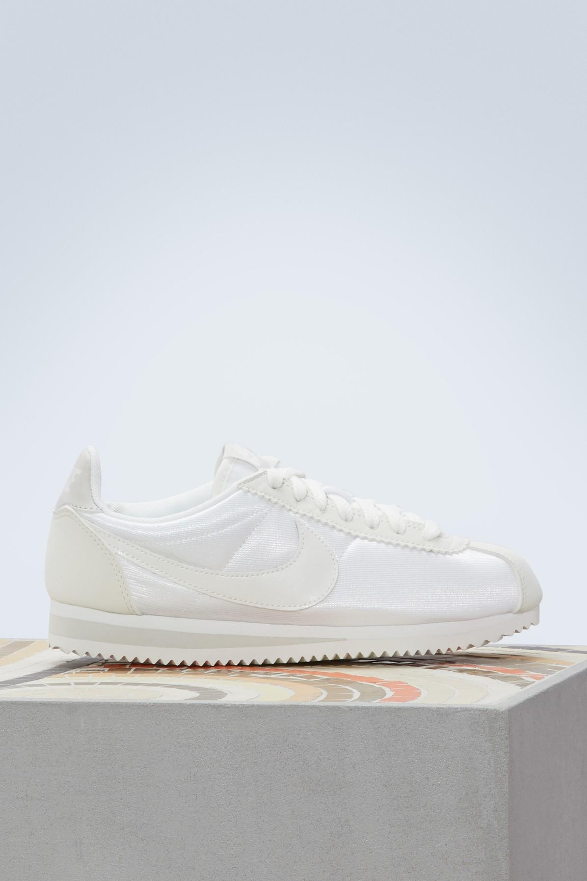 huge selection of 9e49b 73efe Cortez Classic Sneakers in Ivory/Ivory-Light Bone - Summit White