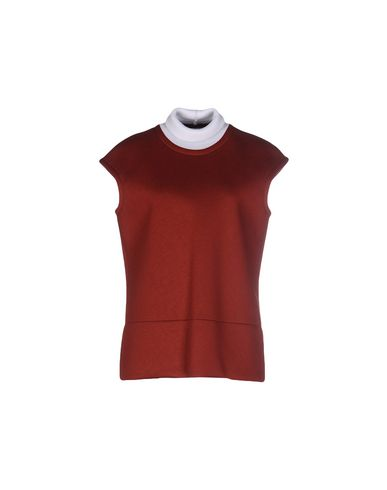 Marni T-shirt In Brick Red