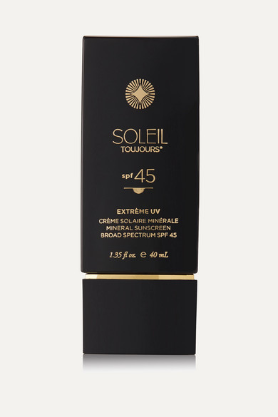 Soleil Toujours Spf45 Extrème Uv Mineral Sunscreen For Face, 40m In Colorless