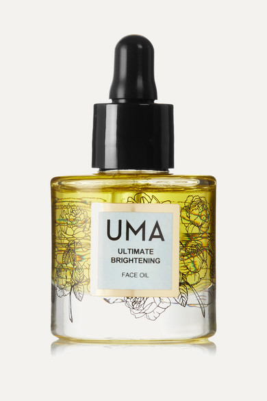 Uma Oils Net Sustain Ultimate Brightening Face Oil, 30ml In Gold