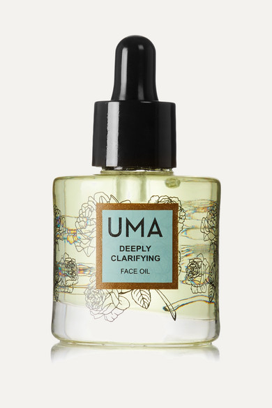 Uma Oils Net Sustain Deeply Clarifying Face Oil, 30ml In Transparent