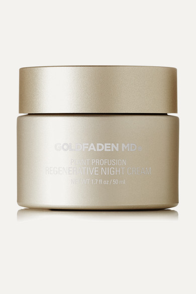 Goldfaden Md Plant Profusion Regenerative Night Cream, 50ml In Colorless