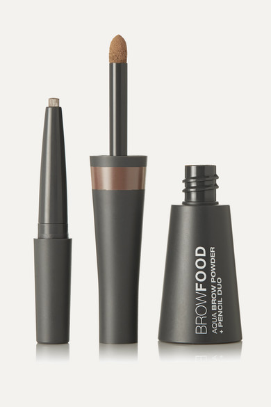 Lashfood Browfood Aqua Brow Powder + Pencil Duo - Dark Blonde In Neutral