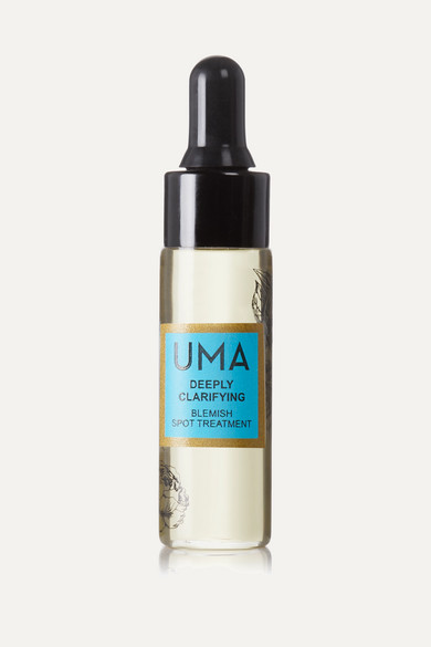 Uma Oils Net Sustain Deeply Clarifying Blemish Spot Treatment, 15ml In Transparent