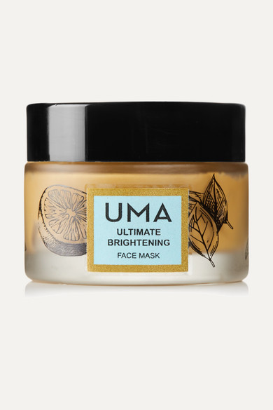 Uma Oils Net Sustain Ultimate Brightening Face Mask, 50ml In Colorless