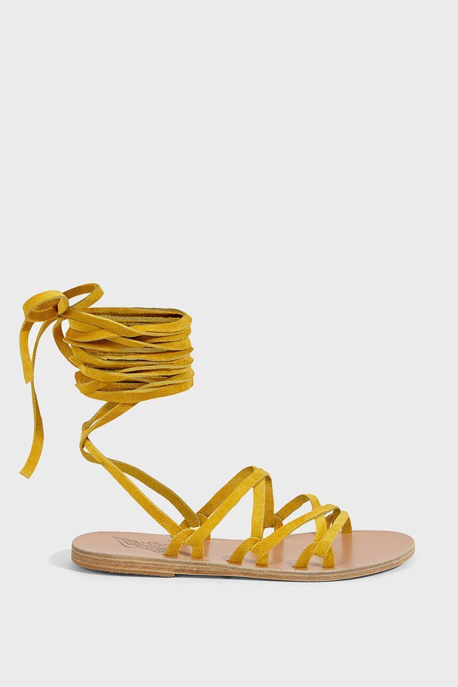 c9cf0f5b0f69 Ancient Greek Sandals Simply Kariatida Rope Sandals In Yellow