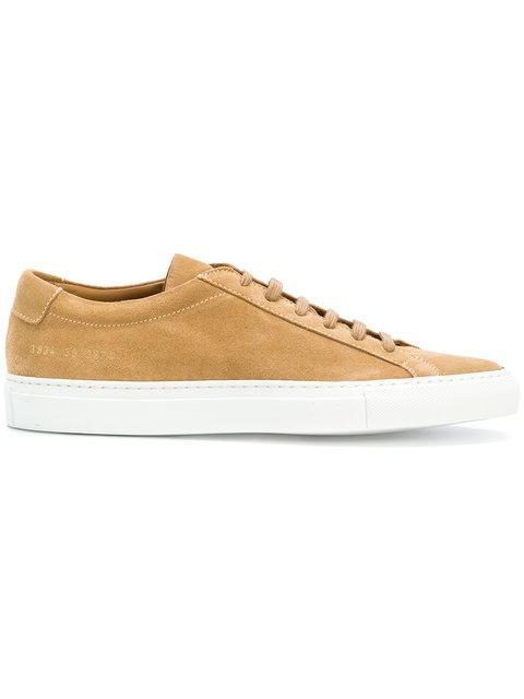 d289a6315da9e Common Projects Achilles Low Sneakers - Nude   Neutrals