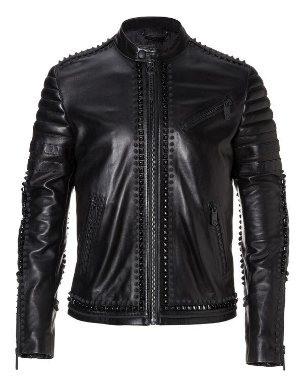 62a7be3a3 Leather Moto Jacket