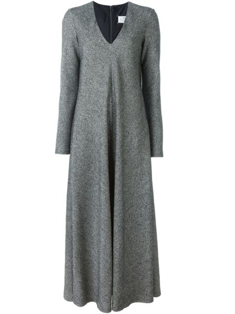 79378d8e48 Maison Margiela Tweed Long-Sleeve Maxi Dress | ModeSens