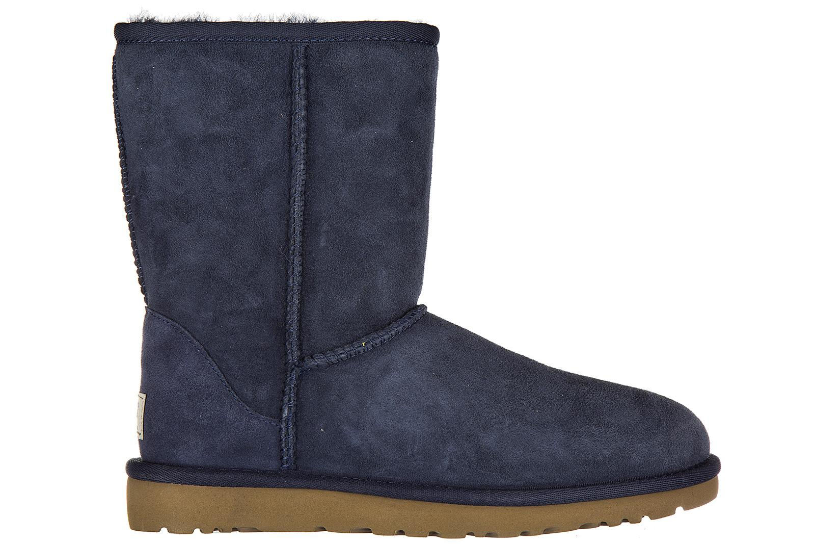 af940f2cb27 Women's Suede Ankle Boots Booties W Classic Short in Blue