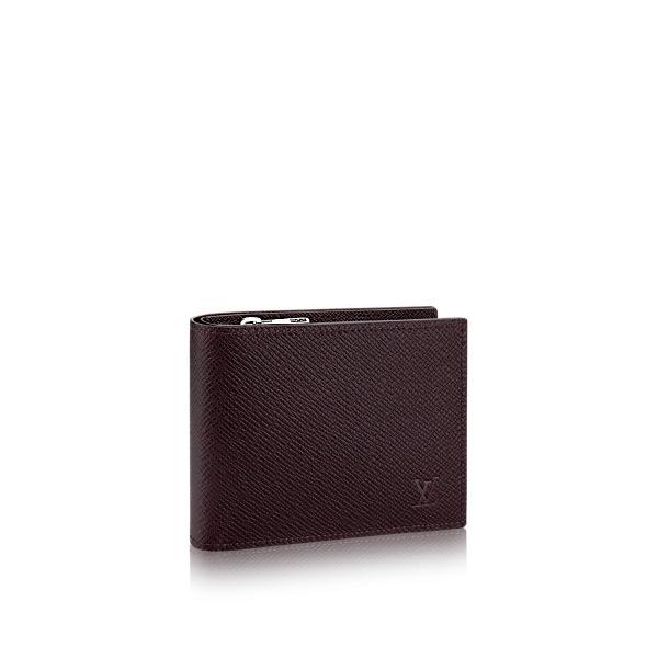 18451c73ed30 Louis Vuitton Amerigo Wallet In Acajou