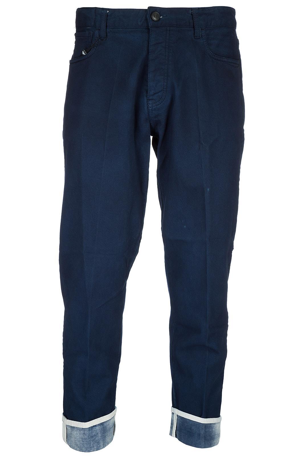 Emporio Armani Men's Jeans Denim In Blue